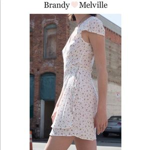 BRANDYMELVILLE WRAP DRESS